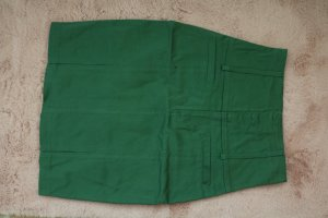 Denim Skirt forest green