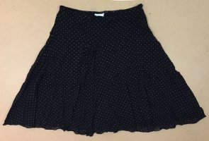 Casa Blanca Flounce Skirt black-white