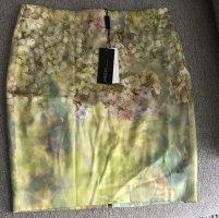 Marc Cain Silk Skirt multicolored