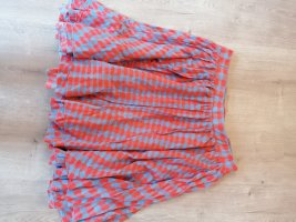 Marc Jacobs Warstwowa spódnica jasnoczerwony-liliowy