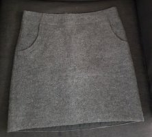 Marc O'Polo Wool Skirt dark grey