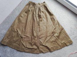 Falda globo marrón arena-marrón claro