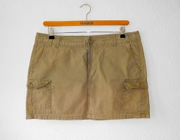 H&M Cargo Skirt sand brown
