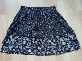 Esprit Circle Skirt black viscose