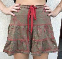 Gsus Skater Skirt multicolored