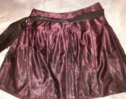 Orsay Plaid Skirt brown violet-black