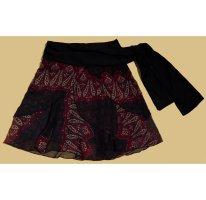Livre Flounce Skirt multicolored