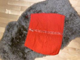 Fishbone Mini rok rood