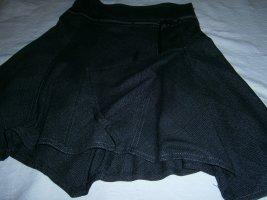 Xanaka Asymetryczna spódniczka antracyt-taupe