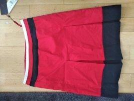 s.Oliver Selection Flounce Skirt brick red-dark blue