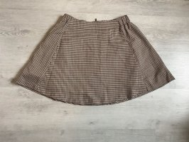 Only Rozkloszowana spódnica czarny-jasnobrązowy