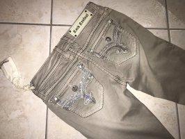 Rock Revival Jeans a gamba dritta grigio chiaro-argento
