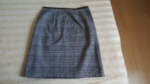 JDY denim Falda de lana blanco-negro