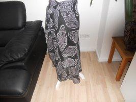 Yessica Flounce Skirt black-white polyester
