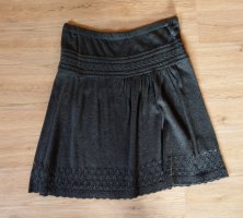 Promod Knitted Skirt anthracite