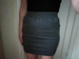 American Apparel Miniskirt grey-dark grey