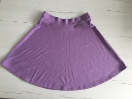 Buffalo Jupe mi-longue mauve polyester