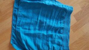 Closed Falda de lino turquesa