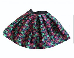 Dolce & Gabbana Jupe en soie multicolore