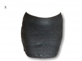 Gina B Asymmetrische rok zwart
