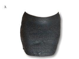 Rock von Gina, schwarz, Gr. 38, luxuriös,Muster,neu mit Etikett