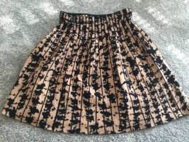 Marc Cain Knitted Skirt black-beige