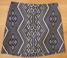 Orsay Mini rok zilver-blauw