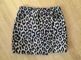 Paule ka Miniskirt black-white wool