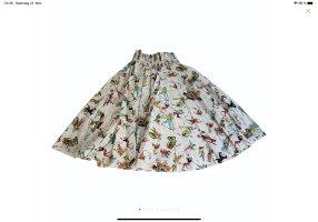 Prada Falda midi multicolor