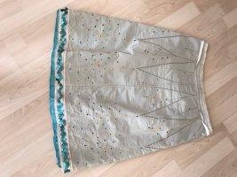 Dorothee Schumacher Warstwowa spódnica niebieski neonowy Bawełna