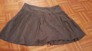Zero Spódnica z koła szary-ciemnoszary
