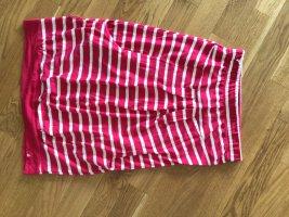 Alife & Kickin Ołówkowa spódnica magenta-biały