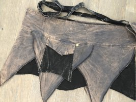 Ohne Sobrefalda negro-gris Algodón