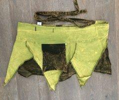 Ohne Kopertowa spódnica zielona łąka-ciemnozielony Bawełna