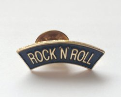 RocknRoll Metall PIN Anstecker Neu