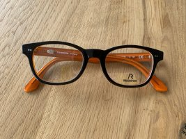 Rodenstock Glasses black-orange acetate