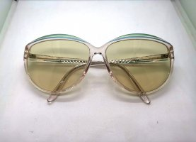 Rodenstock Oval Sunglasses pale yellow-green