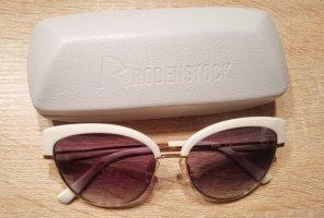Rodenstock Gafas Retro blanco-color bronce vidrio