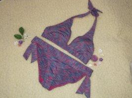 Rodeo bunter sommerlicher Sommer Bikini gestreift Streifen 38