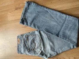 Rodi Denims Pantalone a vita bassa azzurro-blu acciaio