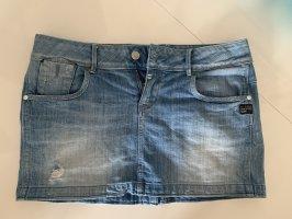 Big Star Jeansowa spódnica stalowy niebieski