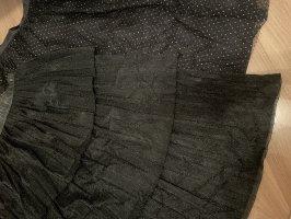 Zara Lniana spódnica Wielokolorowy