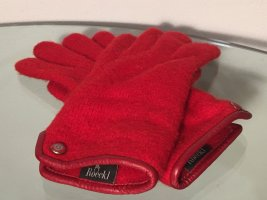 Roeckl Knitted Gloves red