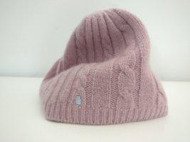 Roeckl Cappello a maglia rosa antico-rosa pallido