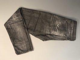 7 For All Mankind Slim jeans antraciet-zwart