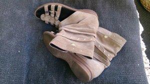 Romeinse sandalen grijs-bruin Leer