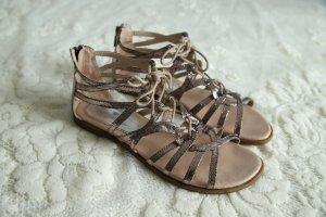 Tom Tailor Romeinse sandalen brons-lichtbruin Gemengd weefsel