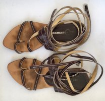 Roman Sandals dark brown leather