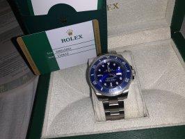 Rolex Montre automatique bleu-gris ardoise