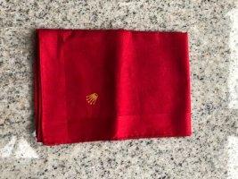 Rolex Einstecktuch/ Taschentuch Rot 30x30 cm Rot NEU!
